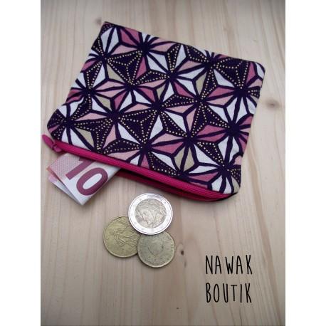 Porte Monnaie - Japonisant violet
