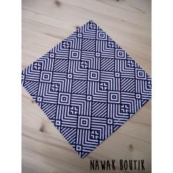 Mouchoir en tissu - Géométrique