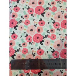 Tissu - Fleurs bohème