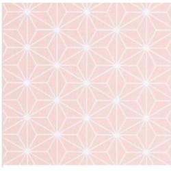 Coton enduit - Blush
