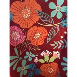 Coton enduit - Blommor